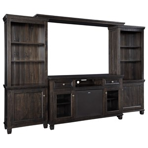 Entertainment Center w/ Large Bluetooth Speaker