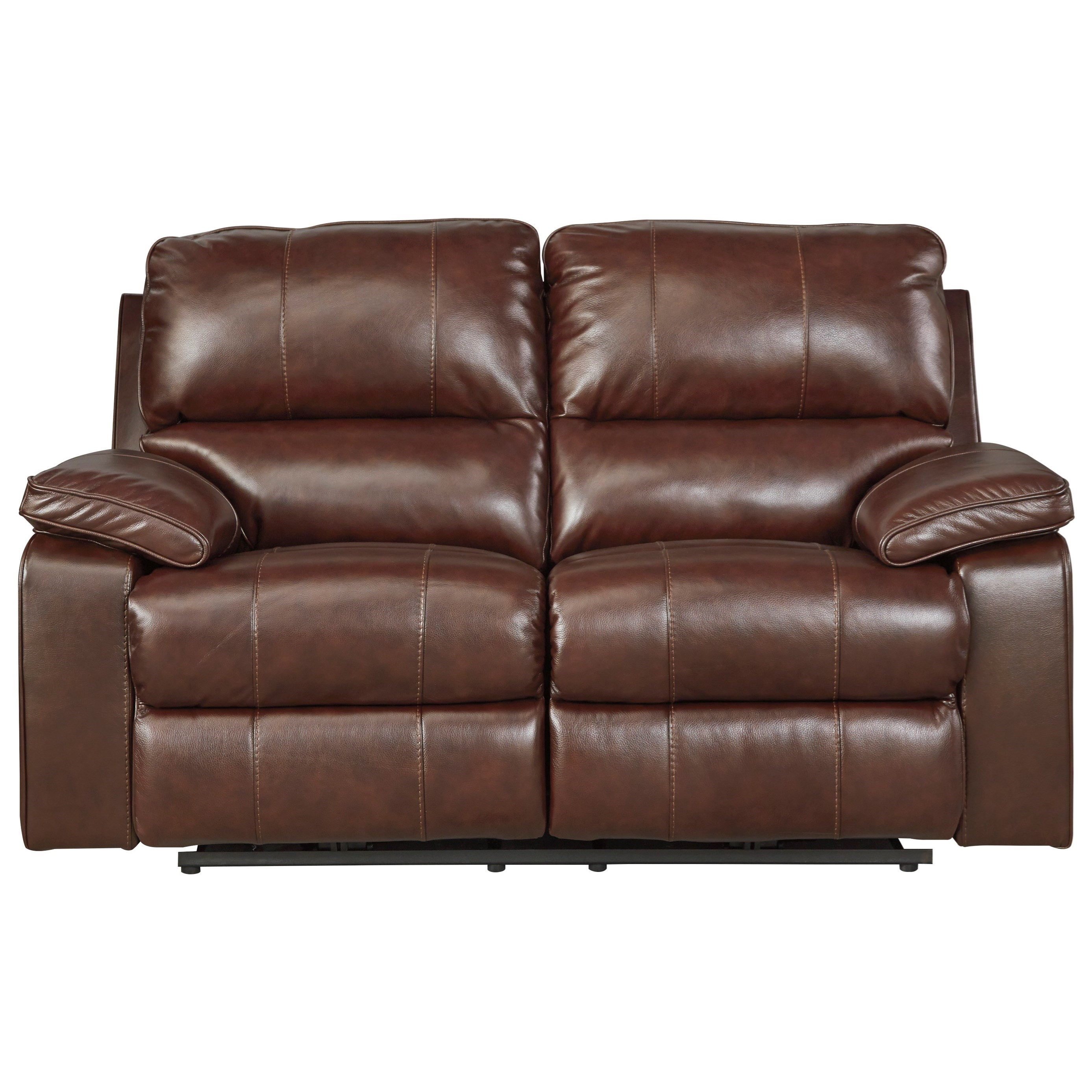 Leather Match Power Reclining Loveseat w/ Adjustable Headrest  sc 1 st  Wolf Furniture & Leather Match Power Reclining Loveseat w/ Adjustable Headrest by ... islam-shia.org