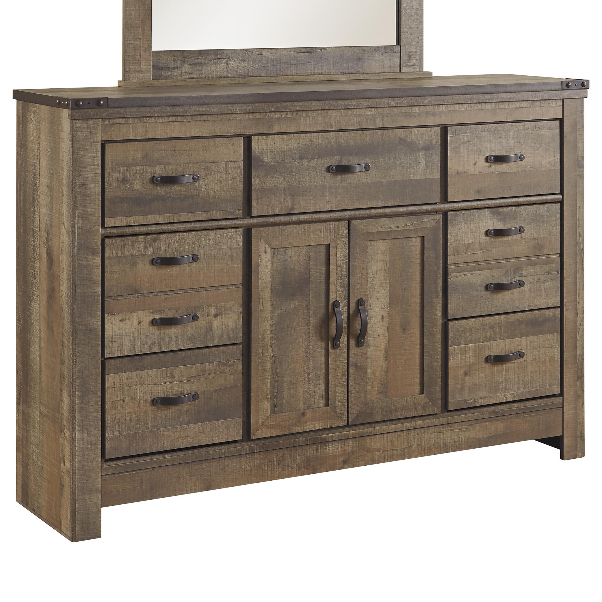 dresser twelve side gallerie second drawer z hand off with doors glass