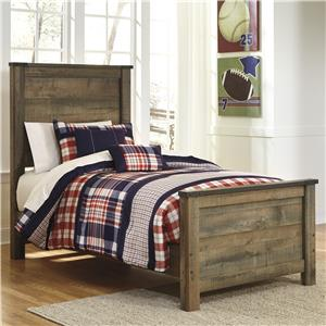 Signature Design by Ashley Trinell Twin Panel Bed