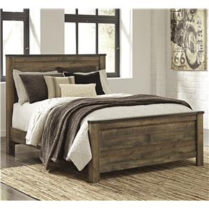 Signature Design by Ashley Trinell Queen Panel Bed