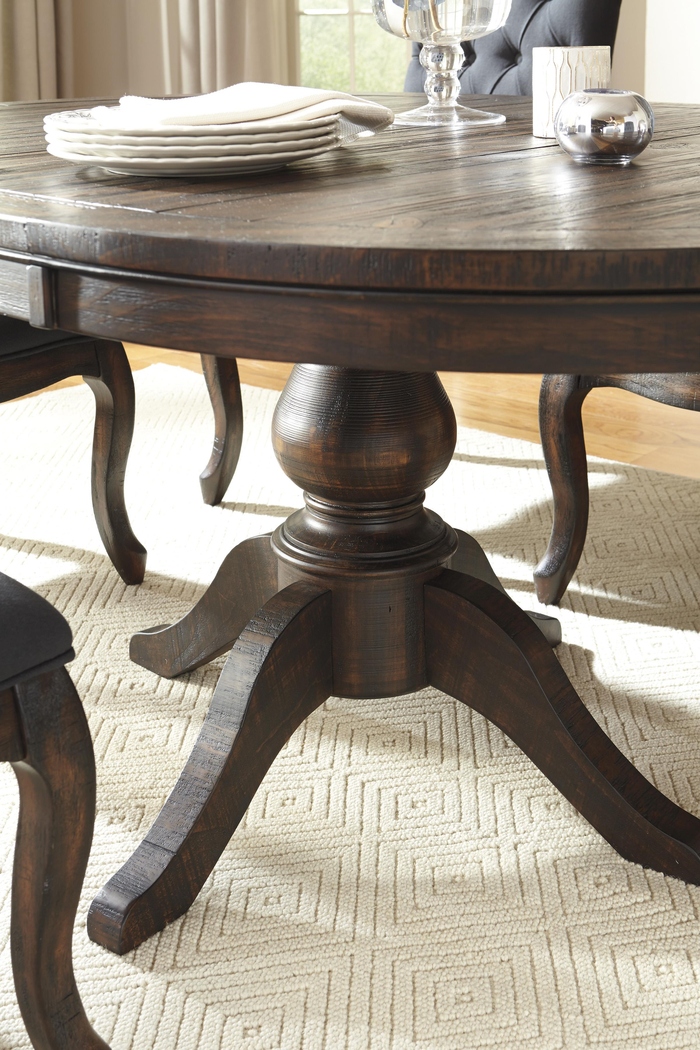 7-Piece Oval Dining Table Set with Wood Seat Side Chairs by ...