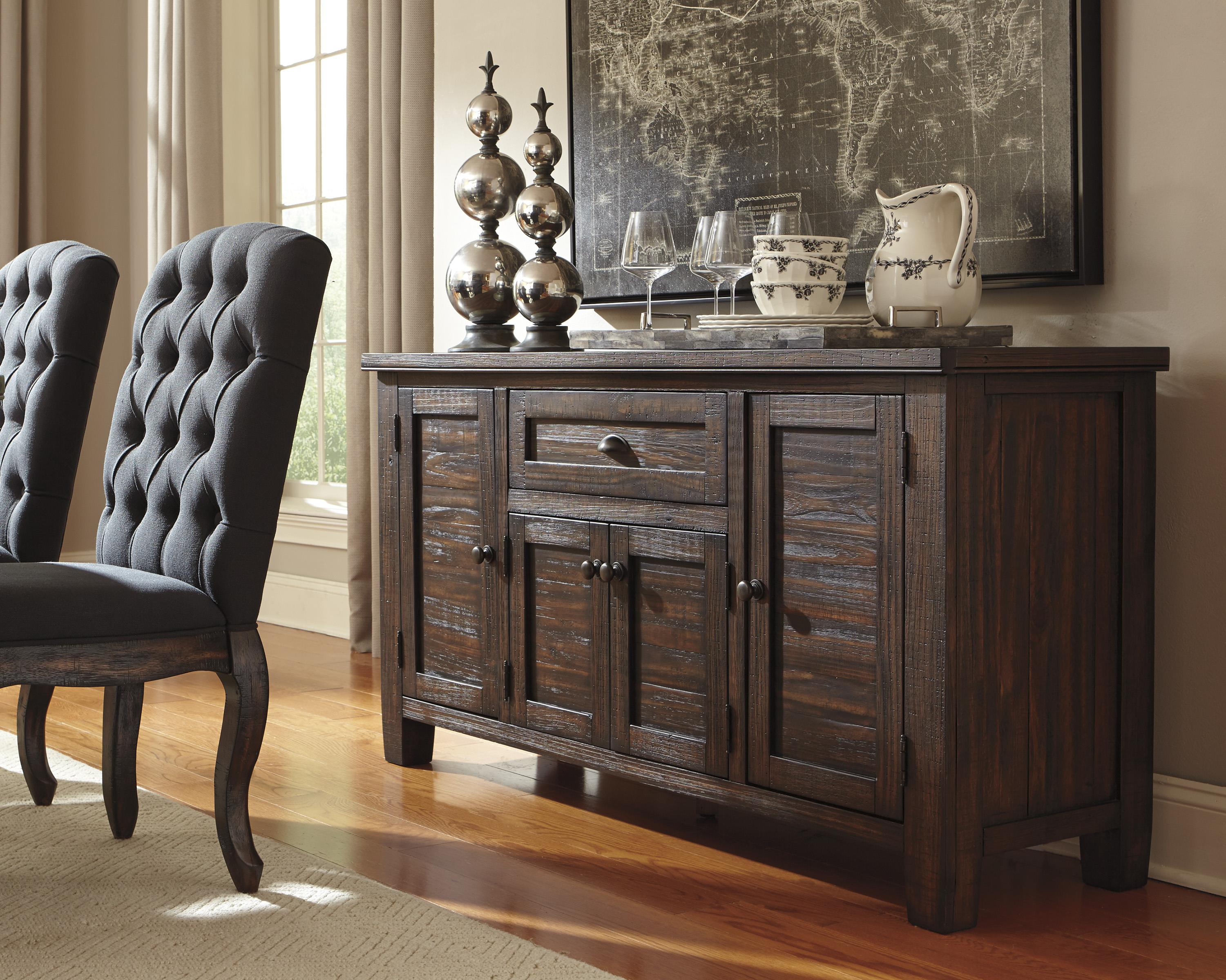 Solid Wood Pine Dining Room Server by Signature Design by Ashley ...