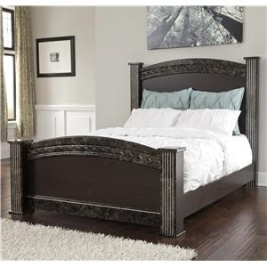 Signature Design by Ashley Furniture Vachel Queen Poster Bed