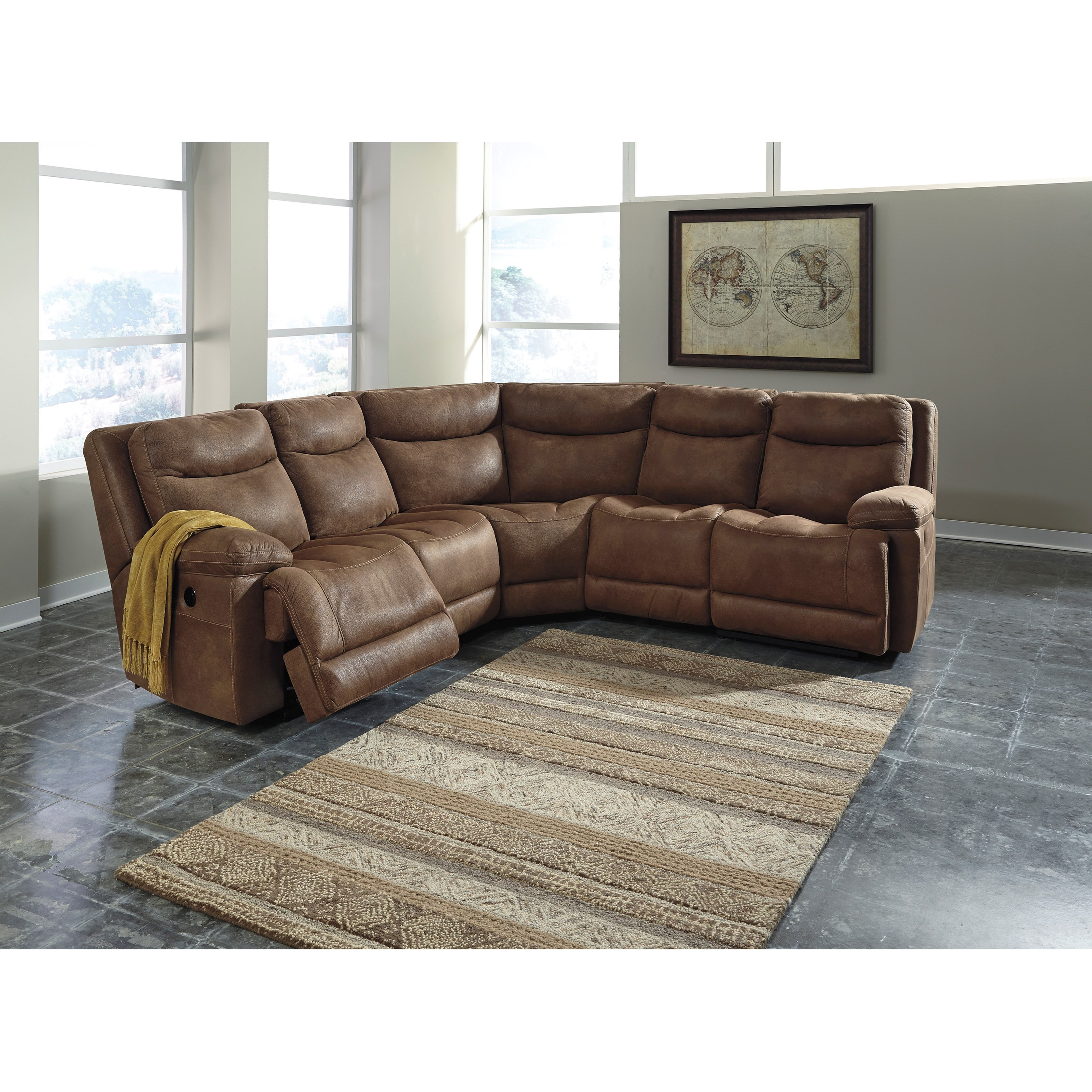 5 Piece Power Reclining Sectional by Signature Design by Ashley