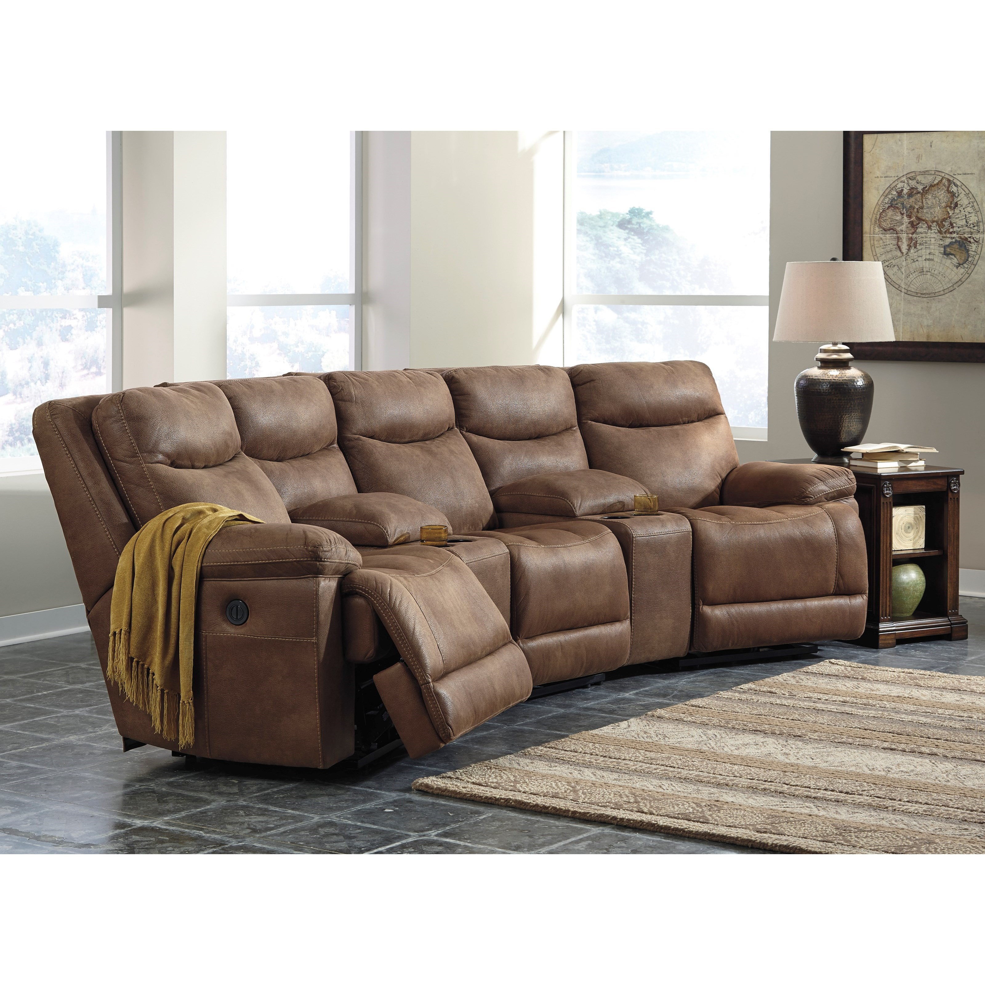 Angled Chaise Sofa hmmi