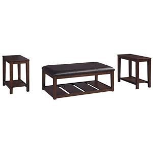 Ashley (Signature Design) Vickerfield Occasional Table Set