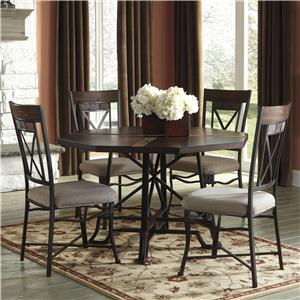 Signature Design by Ashley Vinasville 5-Piece Table Set