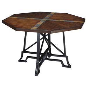 Signature Design by Ashley Furniture Vinasville Dining Room Table w/ Metal Legs