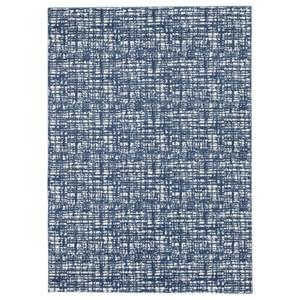 Norris Blue/White Medium Rug