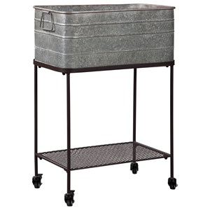 Beverage Tub with Casters