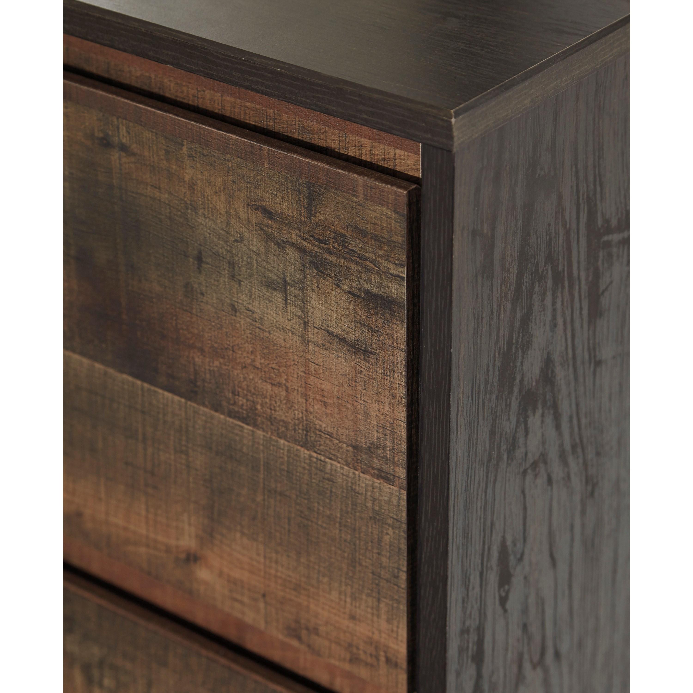 Modern Rustic Dresser Bedroom Mirror By Signature Design Ashley