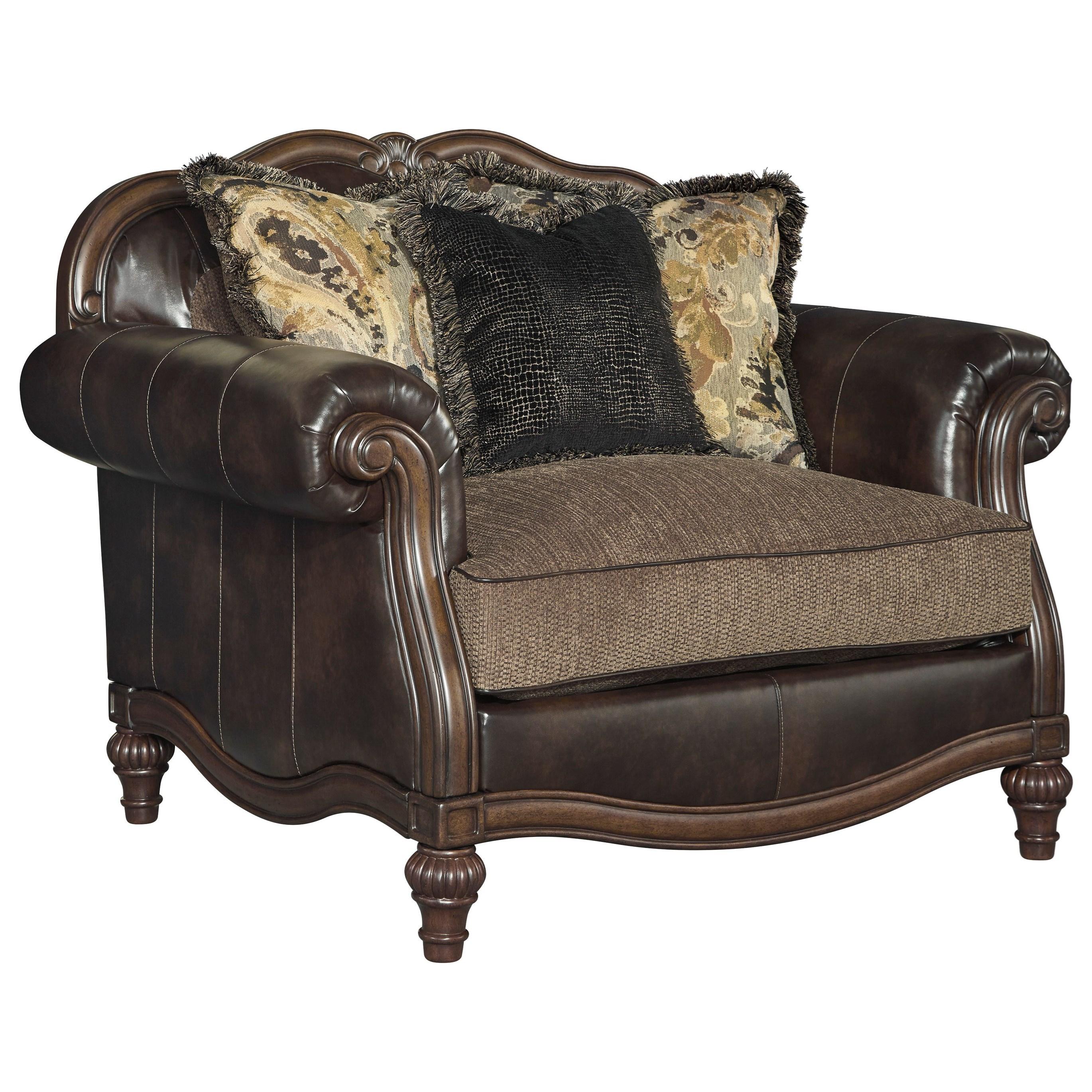 Chair And A Half U0026 Ottoman