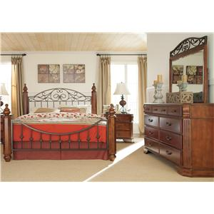 Signature Design by Ashley Wyatt 4 Piece Queen Bedroom Group