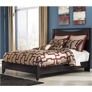Signature Design by Ashley Furniture Zanbury Queen Bed with Low-Profile Footboard
