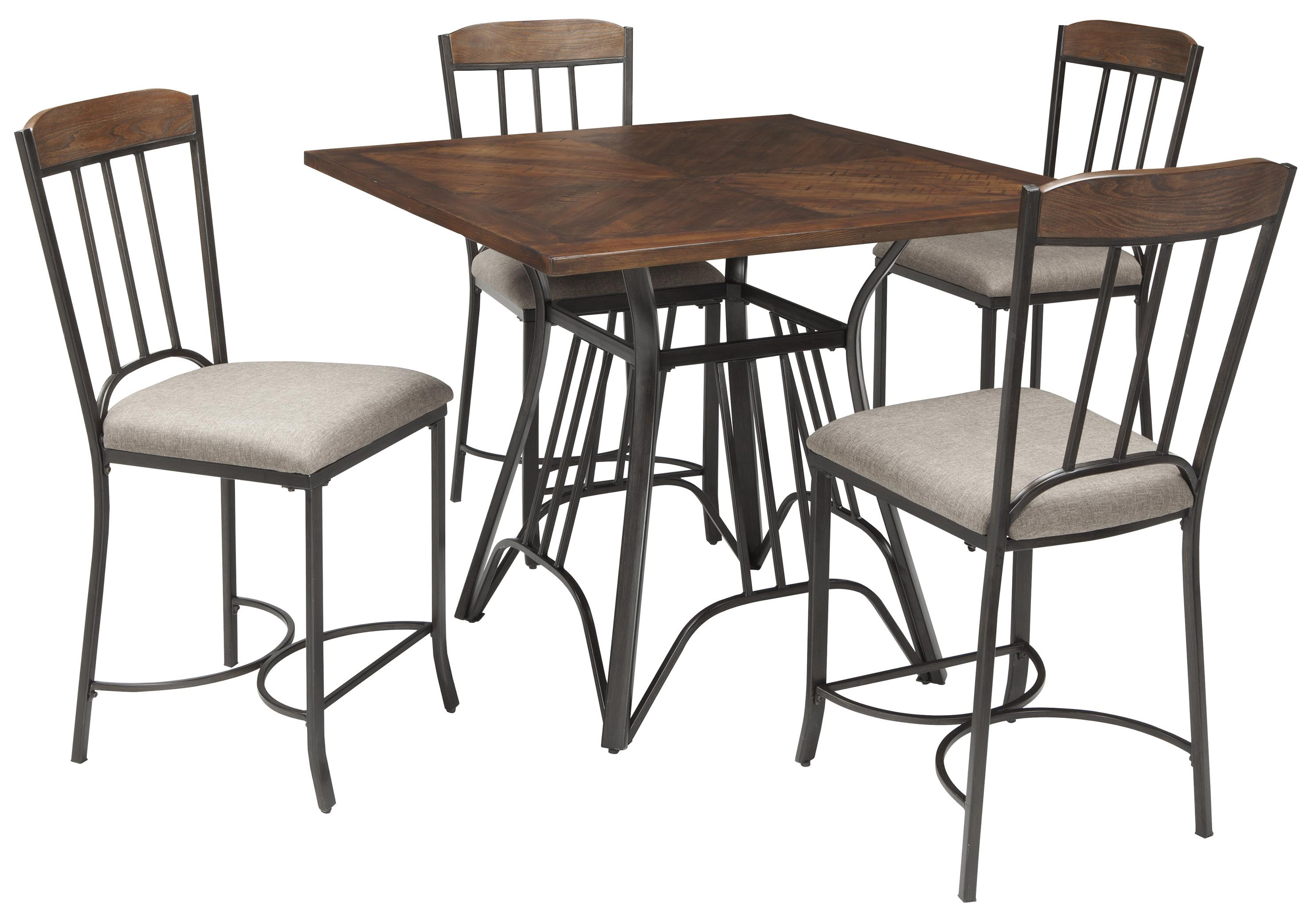 Counter Table Set Part - 37: Square Dining Room Counter Table Set
