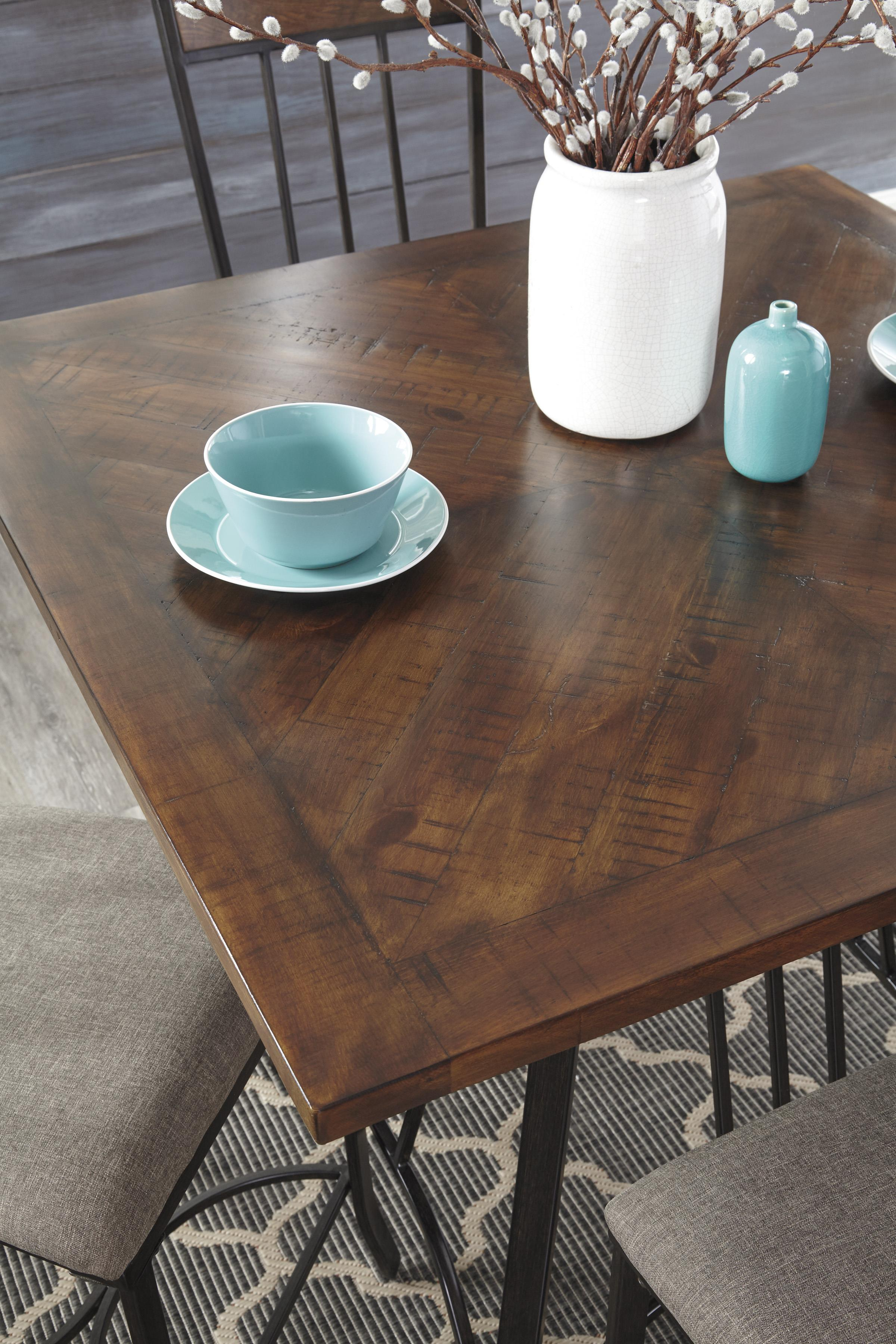 square dining room counter table set by signature design by ashley square dining room counter table set