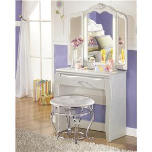 Signature Design by Ashley Zarollina Desk & Vanity Mirror