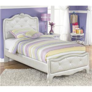 Signature Design by Ashley Furniture Zarollina Twin Upholstered Bed