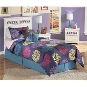Twin Panel Headboard with Customizable Color Panels