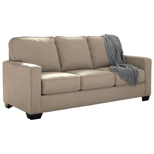 Full Sofa Sleeper with Memory Foam Mattress