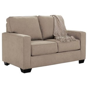 Twin Sofa Sleeper with Memory Foam Mattress