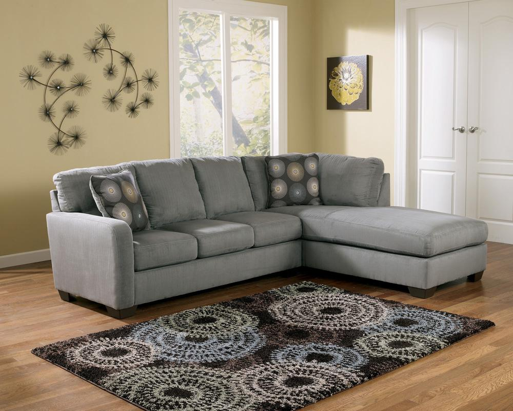 Contemporary sectional sofa with right arm facing chaise for Ashley sectionals with chaise