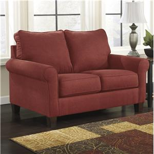 Signature Design by Ashley Furniture Zeth - Crimson Twin Sofa Sleeper