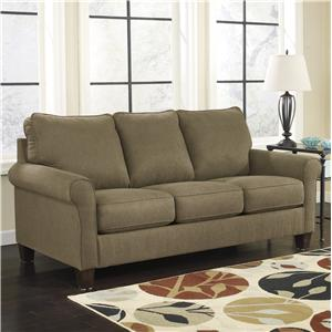 Signature Design by Ashley Furniture Zeth - Basil Full Sofa Sleeper