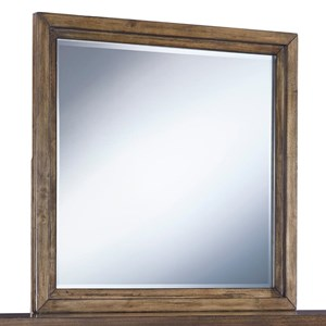 Contemporary Square Bedroom Mirror