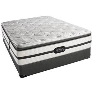 Simmons Beautyrest Black - Evie Queen Luxury Firm Pillow Top Mattress