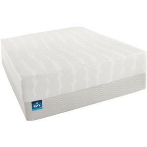 Simmons CURV - The Latest Thing King Firm Mattress