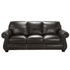 Simon Li H044 Leather Sofa with Down Blend seats