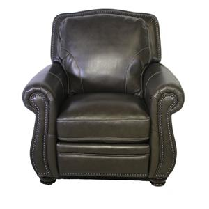 Simon Li H044 Leather Pressback Recliner