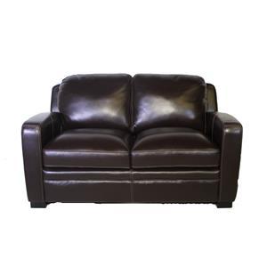 Simon Li J305 Leather Love seat