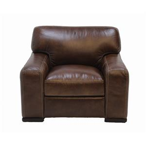 Simon Li J384 Leather Chair