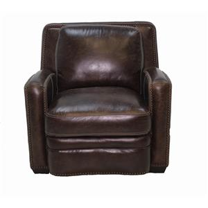 Simon Li J390 Leather Chair