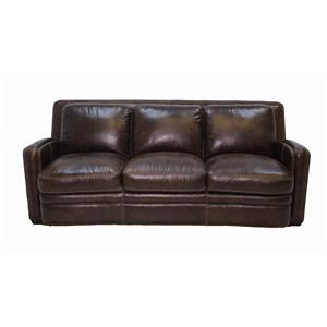 Simon Li J390 Leather Sofa