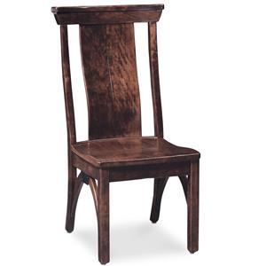 Simply Amish B and O Railroad Trestle Bridge Side Chair