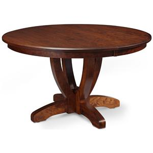 Simply Amish Brookfield Single Pedestal Table