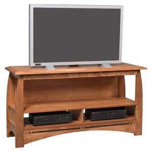 Simply Amish Aspen Open TV Stand