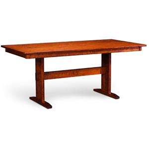 Simply Amish Express Shenendoah Trestle II Table