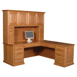 Simply Amish Classic Hutch Top
