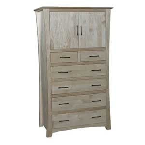 Simply Amish Loft Chest Armoire