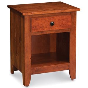 Simply Amish Shenandoah Nightstand with Opening