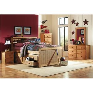 Simply Bunk Beds Pine NIGHT STAND ONLY!!