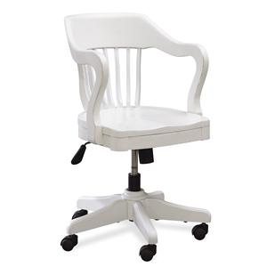 Universal Kids Smartstuff Black and White Desk Chair