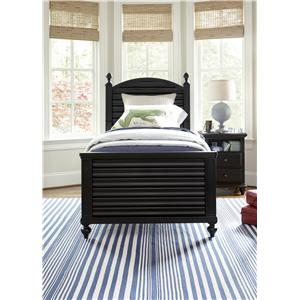 Smartstuff Black and White Twin Bedroom Group