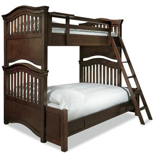 Smartstuff Classics 4.0 Twin Over Full Bunk Bed