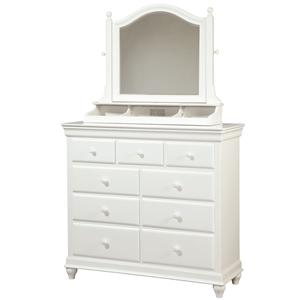 Smartstuff Classics 4.0 Dressing Chest & Tilt Mirror